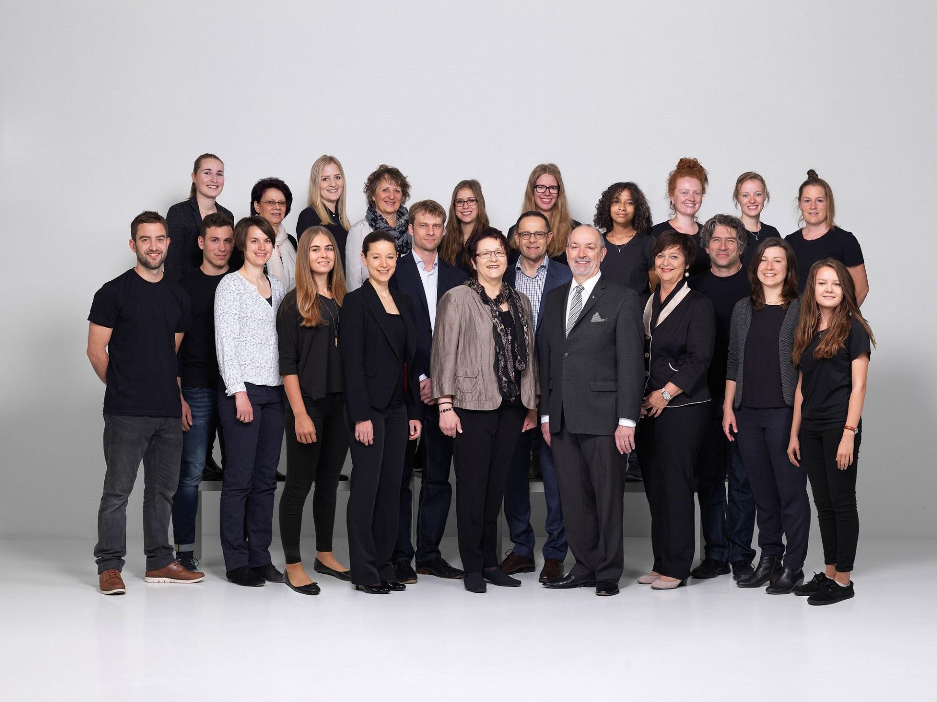 Das Team Scheuber